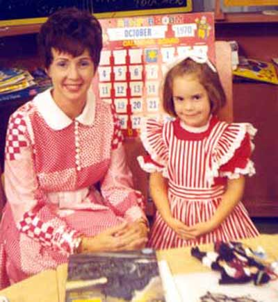 Miss Barbara Plummer on Romper Room in 1967