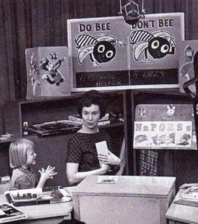 Do Bee and Don't Bee in 1962 Romper Room with Miss Barbara Plummer