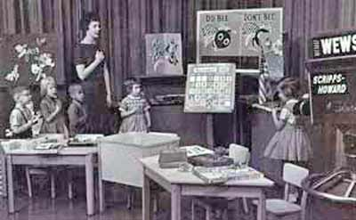 Romper Room Pledge of Allegiance in 1962