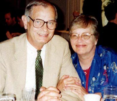 Joe Mosbrook and wife Elaine
