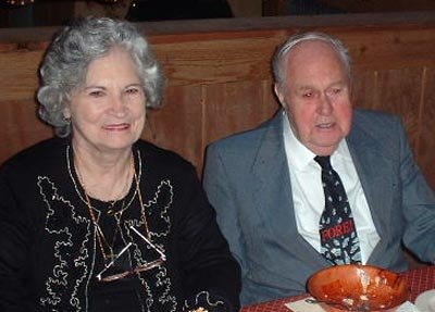 Helen and Ed Mugridge in 2002
