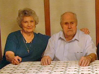 Helen and Ed Mugridge in 2003