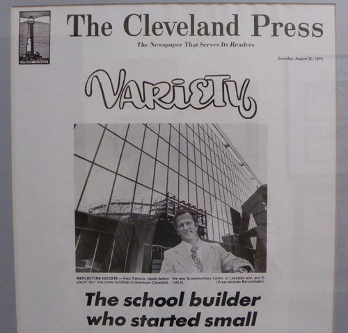 Nacy Panzica in Cleveland Press