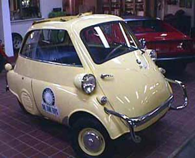 BMW Isetta in Museum