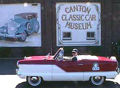 Craig delivering met to Canton Classic Car Museum