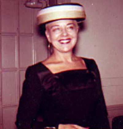 Paige Palmer at the May Company in 1957