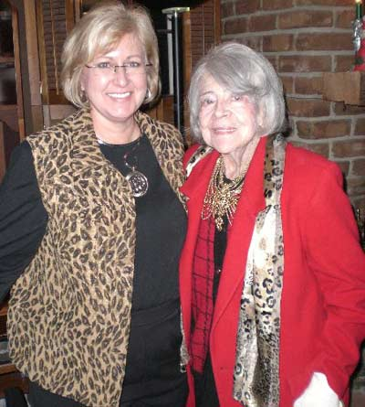 Dr. Suzanne Allen and Paige Palmer in August 2007