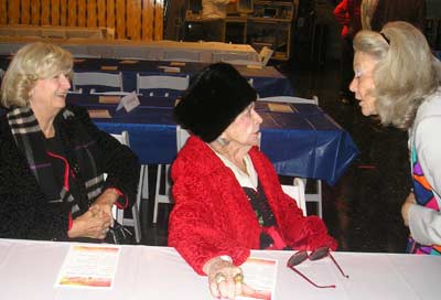 Audrey Dahlgren, Paige Palmer and Pat Ferlin at WEWS 60th Anniversary