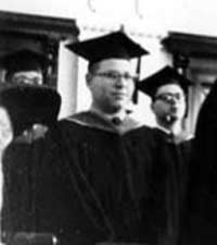 Rabbi Fred Eisenberg Ordination in 1957 from Hebrew Union College