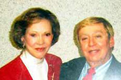 Rosalyn Carter and Richard Gildenmeister