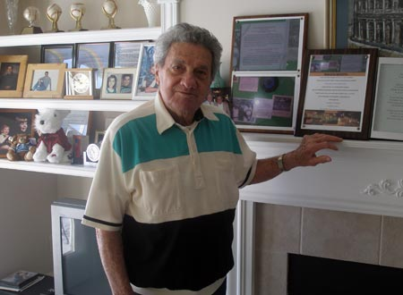 Rocco Scotti at home 2009
