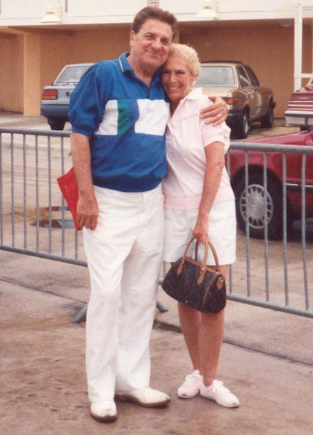 Rocco Scotti and wife June