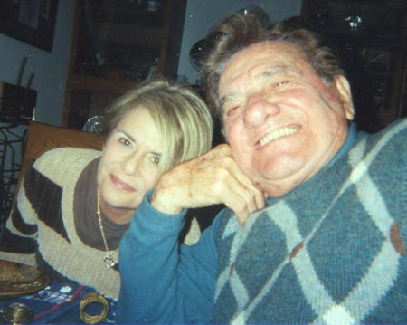 Rocco Scotti with daughter Jean