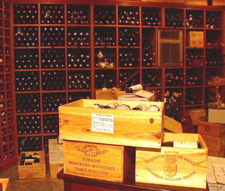 Swingos wine cellar
