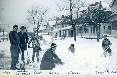 November 1950 Cleveland Thanksgiving snowstorm