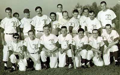 Channel 8 Softball team with Ralph Tarsitano, Dick Goddard, Ernie Anderson, Big Chuck, Hoolihan and more