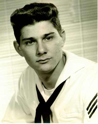 Ralph Tarsitano in Coast Guard Uniform