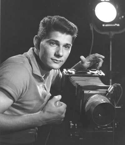 Young Ralph Tarsitano with camera