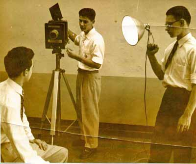 A young Ralph Tarsitano already working the cameras