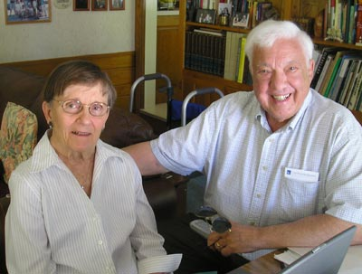 Jean and Dr. Ted Castele in 2008