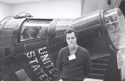 Tim Taylor with Apollo 2