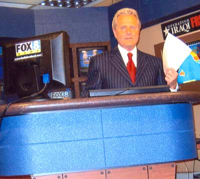 Tim Taylor on Fox News Set