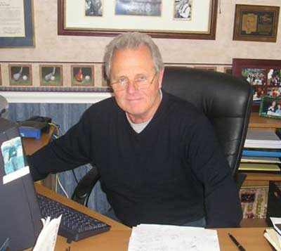 Tim Taylor in his home office December 2007