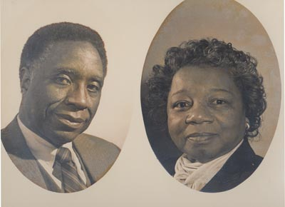 Virgil Brown and wife Lurtissia Brown